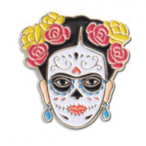 Enamel Pin : The Found - Frida Day of The Dead - MeMe Antenna