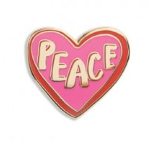 Enamel Pin : The Found - Peace Heart - MeMe Antenna