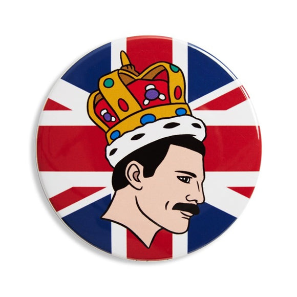 Pocket Mirror : Freddie Mercury - MeMe Antenna