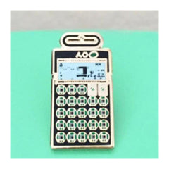 Enamel Pin : Charming Afternoon - Pocket Operator PO-12 - MeMe Antenna
