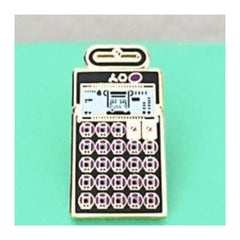 Enamel Pin : Charming Afternoon - Pocket Operator PO-20 - MeMe Antenna