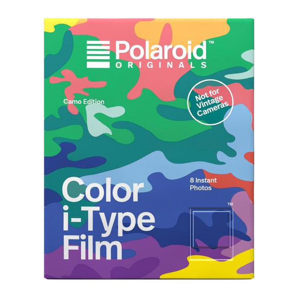 Polaroid Originals: Color Film for iType - Camo Edition - MeMe Antenna