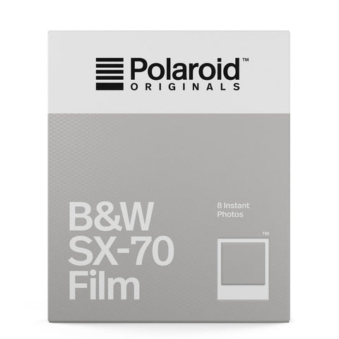 Polaroid Originals: B&W Film for SX-70 - MeMe Antenna