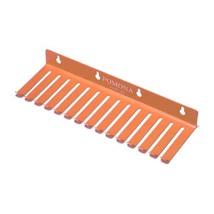 Pomona 1508 Patch Cable Holder 11 inch 10 slots (Orange) - MeMe Antenna