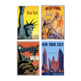 Magnets - New York magnet set - Statue of Liberty - MeMe Antenna