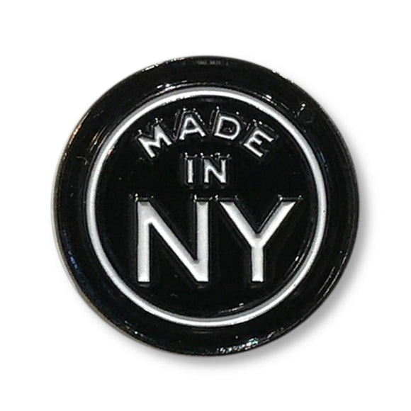 Enamel Pin - NYC - Made in NY - MeMe Antenna