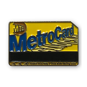 Enamel Pin - NYC - Metro Card - MeMe Antenna
