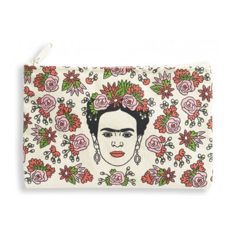 Zipped Pouch : The Found - Frida Kahlo - MeMe Antenna