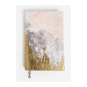 Journal - Mini Velvet Gratitude Journal - Blush Fade - MeMe Antenna