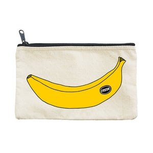 Zipped Pouch - Banana - MeMe Antenna