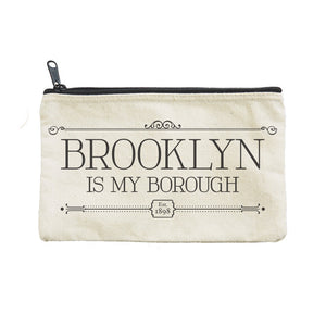 Zipped Pouch - Brooklyn Borough - MeMe Antenna