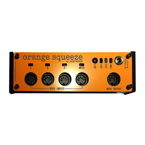 Sixty Four Pixels - Orange Squeeze - MIDI Merge - MeMe Antenna