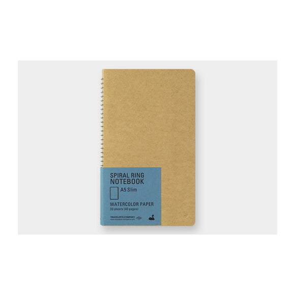 TRC Spiral ring notebook - A5 Slim Paper Pocket - MeMe Antenna