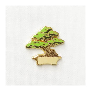 Enamel Pin : Strike Gently - Bonsai - MeMe Antenna