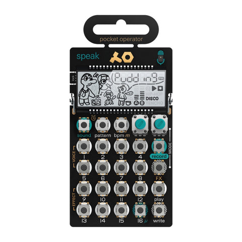 Teenage Engineering PO-35 speak - Pocket Operator - MeMe Antenna