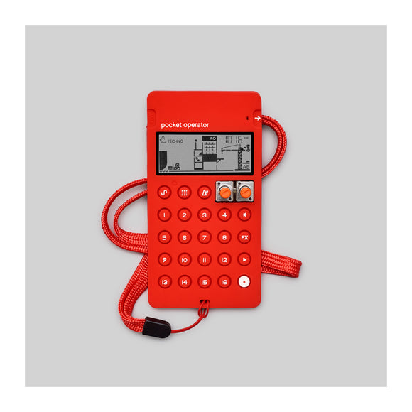 Teenage Engineering CA-X Red - Generic Case for Pocket Operator - MeMe Antenna