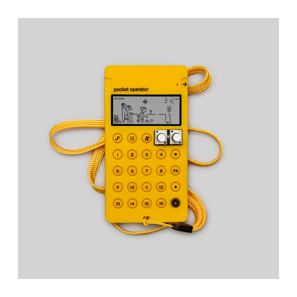 Teenage Engineering CA-X Yellow - Generic Case for Pocket Operator - MeMe Antenna