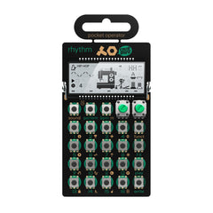 Teenage Engineering PO-12 Rhythm - Pocket Operator - MeMe Antenna