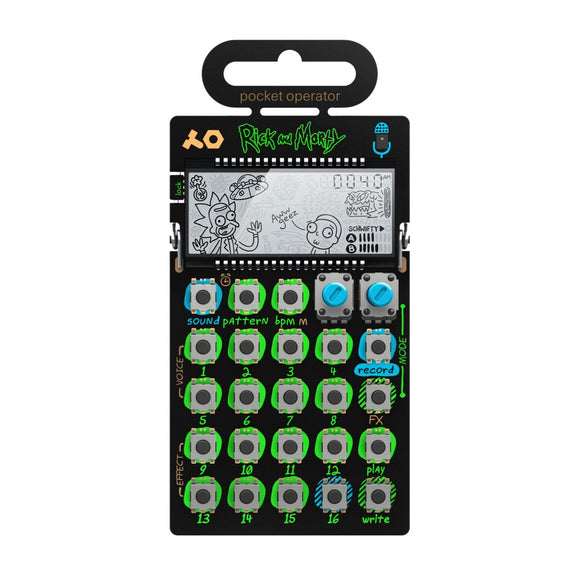 Teenage Engineering PO-137 Rick & Morty - Pocket Operator - MeMe Antenna