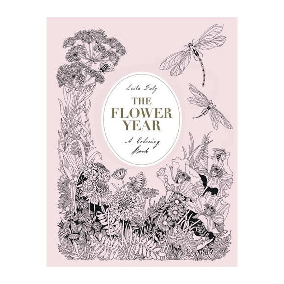 Flower Year - A Coloring Book - MeMe Antenna
