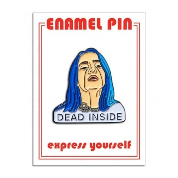 Enamel Pin : The Found - Billie Eilish - MeMe Antenna