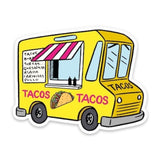 Die Cut Sticker - Taco Food Truck - MeMe Antenna