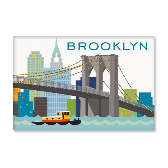 Magnet - Brooklyn Skyline - MeMe Antenna