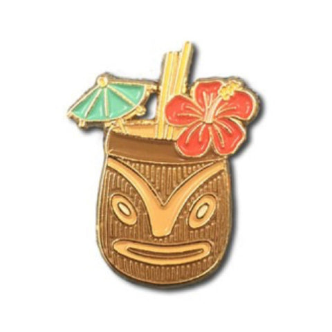Enamel Pin : The Found - Tiki Drink - MeMe Antenna