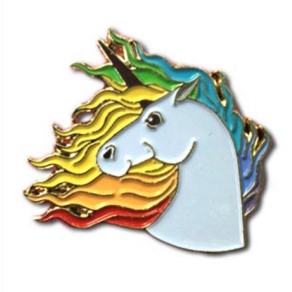 Enamel Pin : The Found - Unicorn - MeMe Antenna