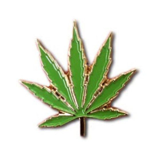 Enamel Pin : The Found - Marijuana Leaf - MeMe Antenna