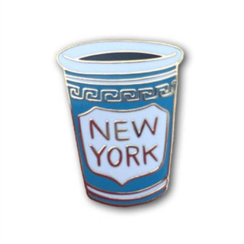 Enamel Pin - NY Coffee Cup Pin-MeMe Antenna