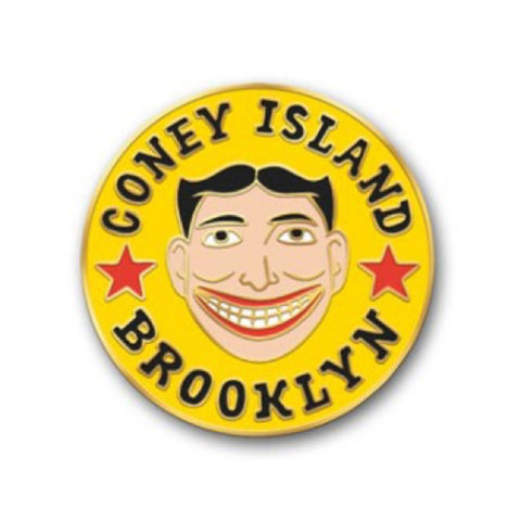 Enamel Pin : The Found - Coney Island - MeMe Antenna
