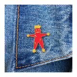 Enamel Pin : The Found - Voodoo Doll - MeMe Antenna