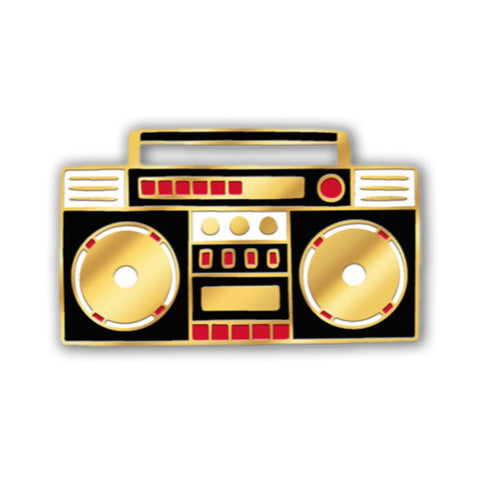 Enamel Pin - Boom Box-MeMe Antenna