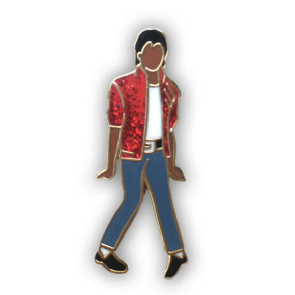 Enamel Pin : The Found - Michael Jackson - MeMe Antenna