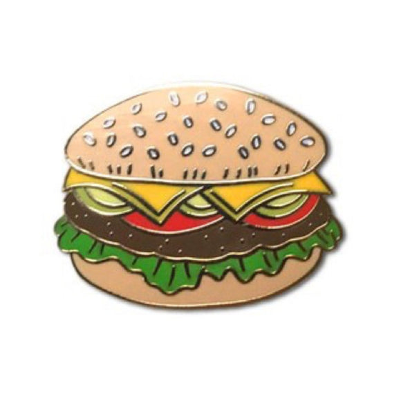 Enamel Pin : The Found - Hamburger - MeMe Antenna