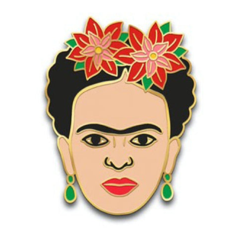 Enamel Pin : The Found - Frida Poinsettia - MeMe Antenna