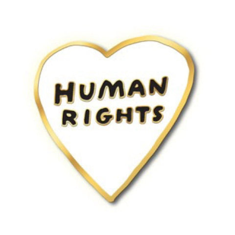 Enamel Pin : The Found - Human Rights - MeMe Antenna