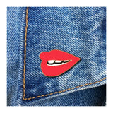 Enamel Pin : The Found - Red Lip - MeMe Antenna