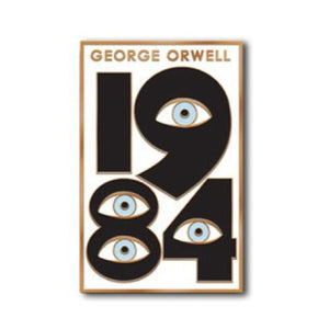 Enamel Pin : The Found - 1984 Orwell - MeMe Antenna