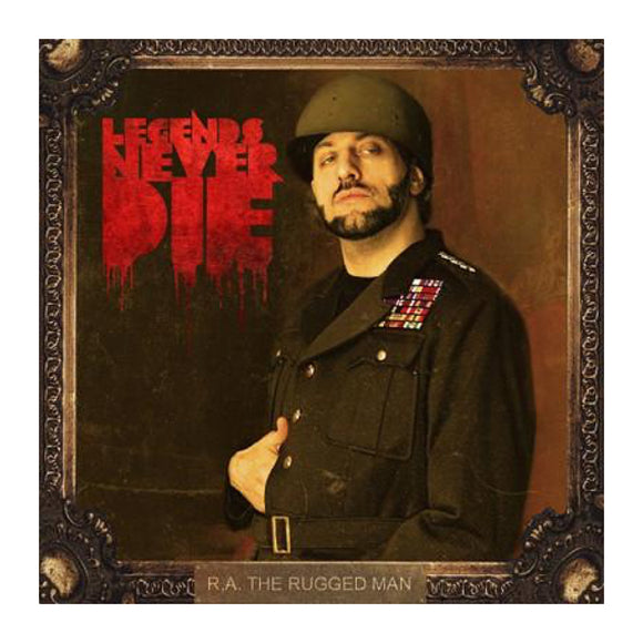 R.A. The Rugged Man - Legends Never Die Cassette - MeMe Antenna
