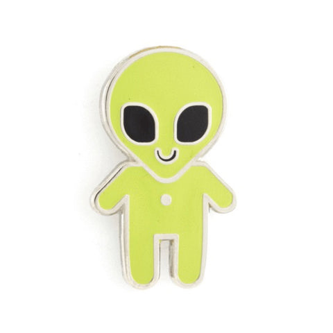 Enamel Pin : These Are Things - Alien Baby - MeMe Antenna