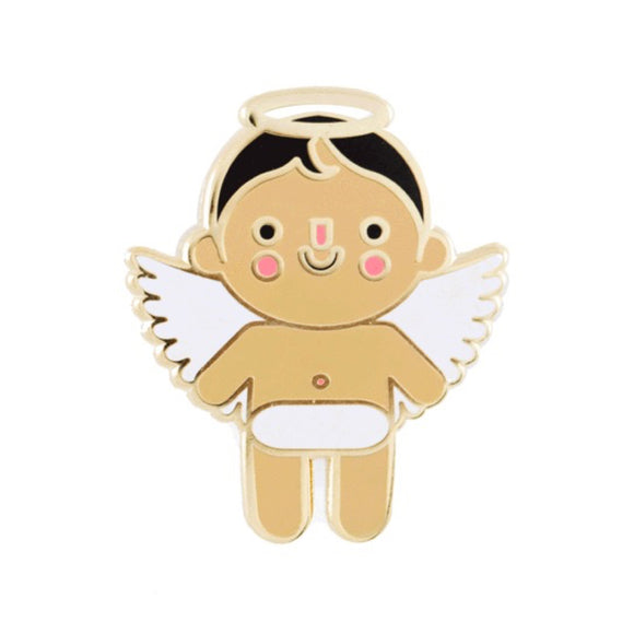 Enamel Pin : These Are Things - Angel Baby Medium - MeMe Antenna
