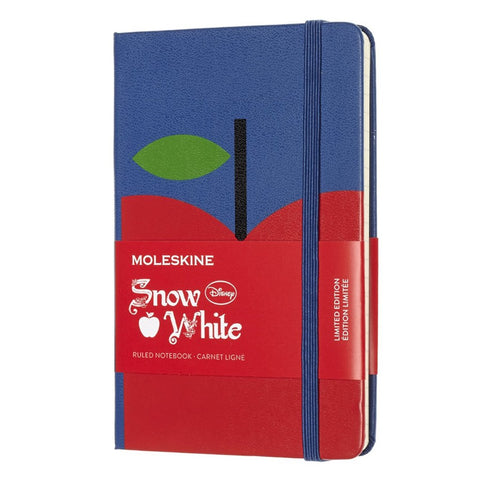 MOLESKINE - Limited Edition Snow White Apple Pocket Notebook - MeMe Antenna