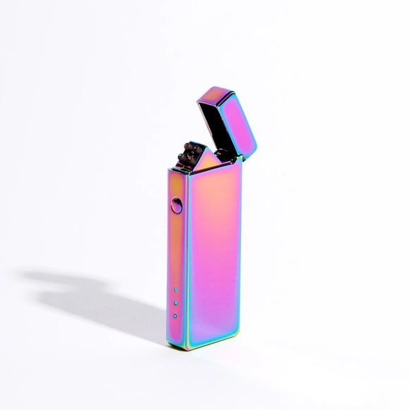 Slim Double Arch Lighter - Purple Metallic - MeMe Antenna