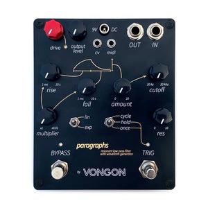 Vongon Paragraphs - Analog Low Pass Filter with Envelope Generator - MeMe Antenna