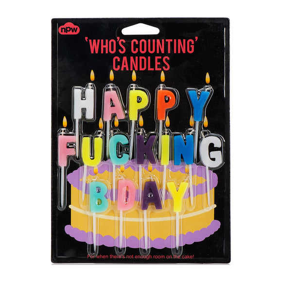 Candle - Happy Fucking Birthday Candles - MeMe Antenna
