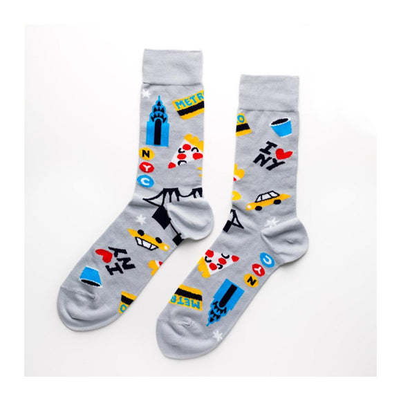 Socks - NYC Crew - Men's - MeMe Antenna