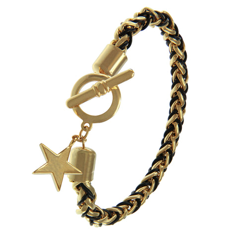 """Divine Wish"" Star Charm Bracelet More Colors"