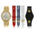 """Dani Watch"" Set, Yellow Gold Tone"